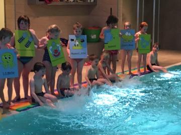 Anfängerschwimmkurse für Kinder